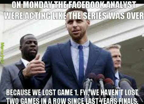 Facebook analyst meme