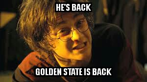 Golden State is Back