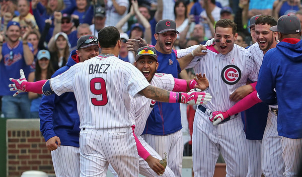 Javier Baez Home Run