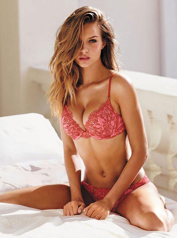 Josephine Skriver Victoria's Secret Ad