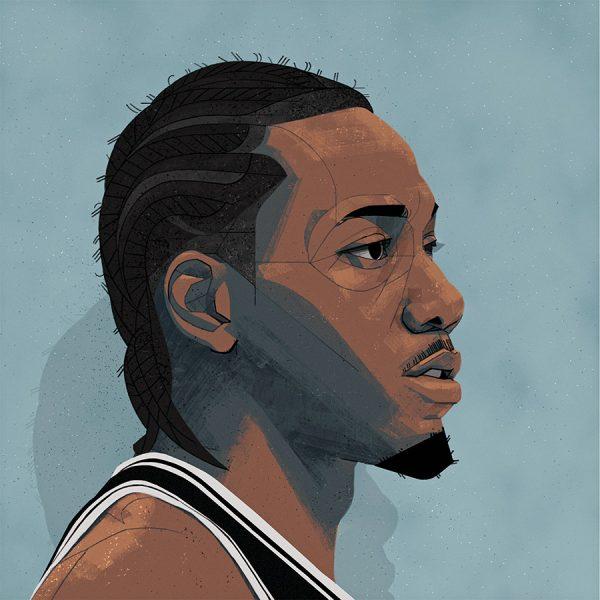 Kawhi Leonard Portrait