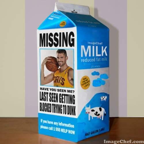 Kevin Love Missing Meme