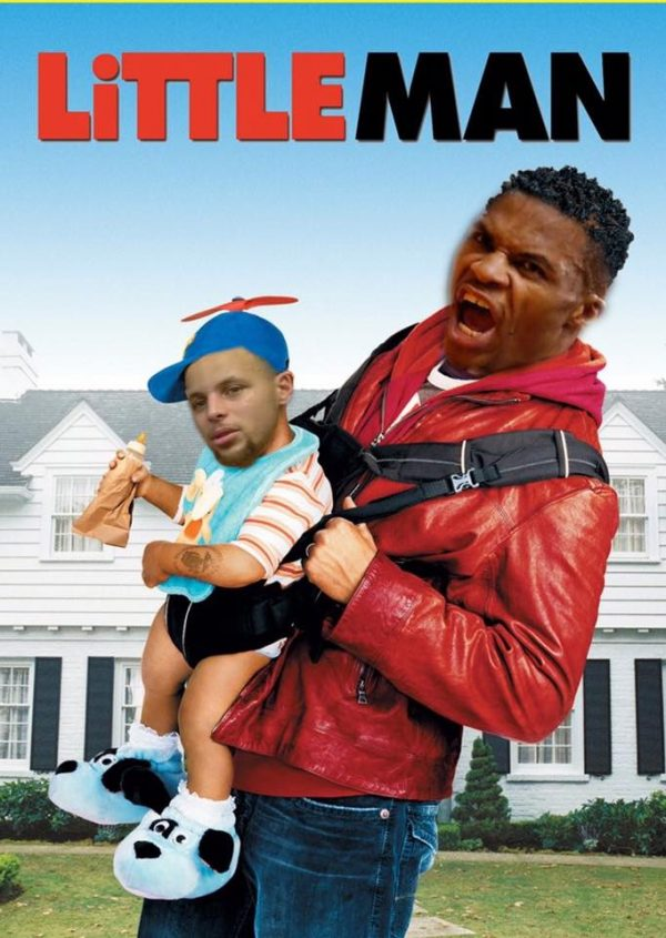 LIttle man Westbrook Curry
