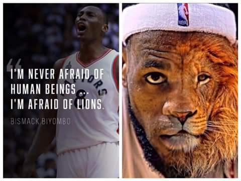 LeBron James Lion
