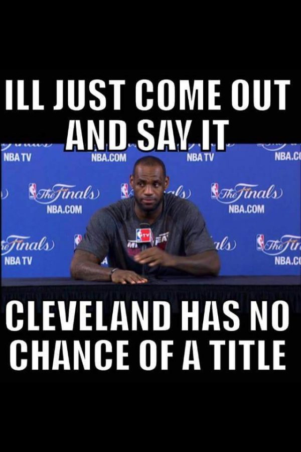 LeBron telling the truth