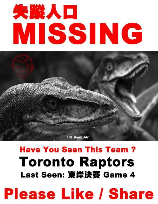 Missing Raptors