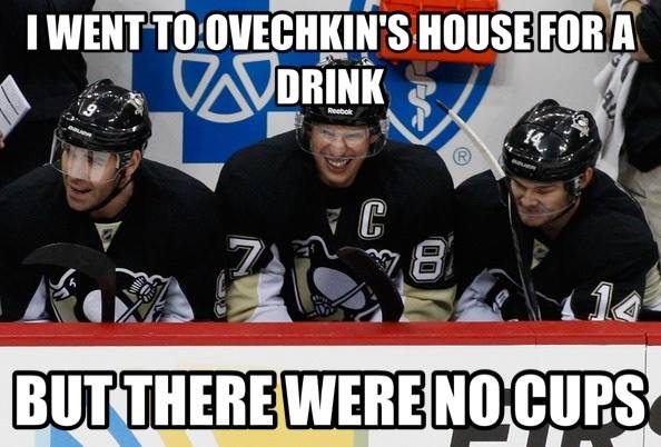 No Cups Penguins Capitals