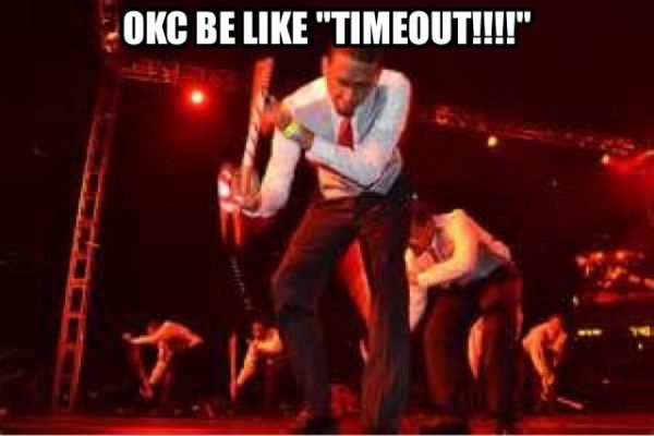 OKC Timeout
