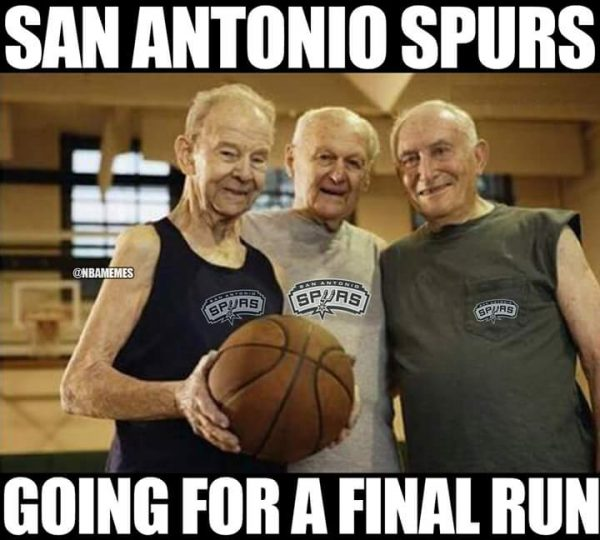 One final Spurs Run