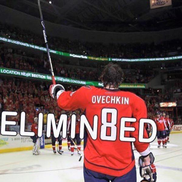 Ovechkin Eliminated