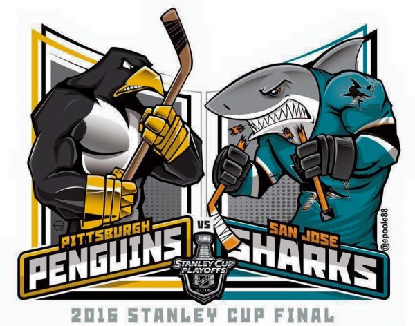 Penguins Sharks Meme