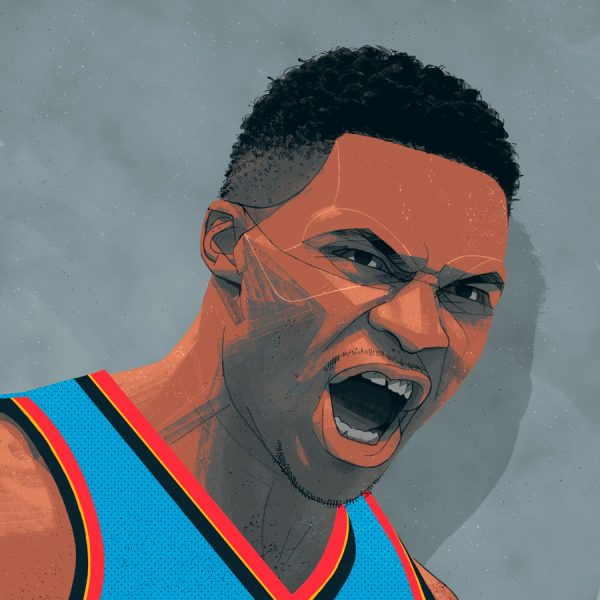 Russell Westbrook Portrait