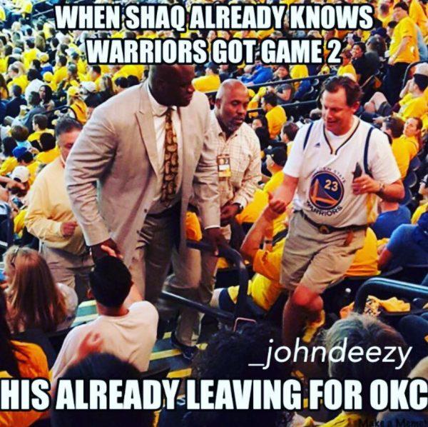 Shaq Knows the Future