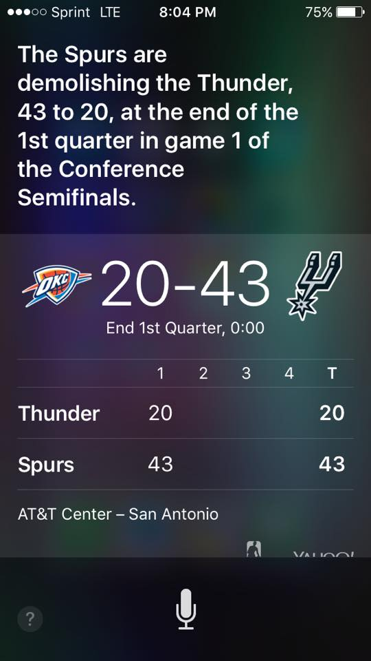 Siri knows