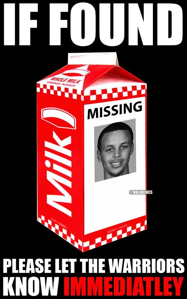 Stephen Curry Missing