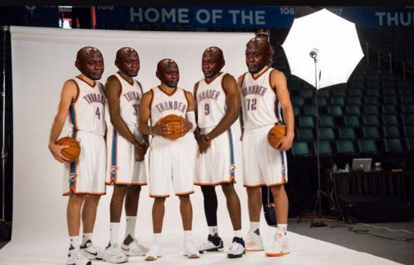 Thunder Photoshoot Crying Jordan