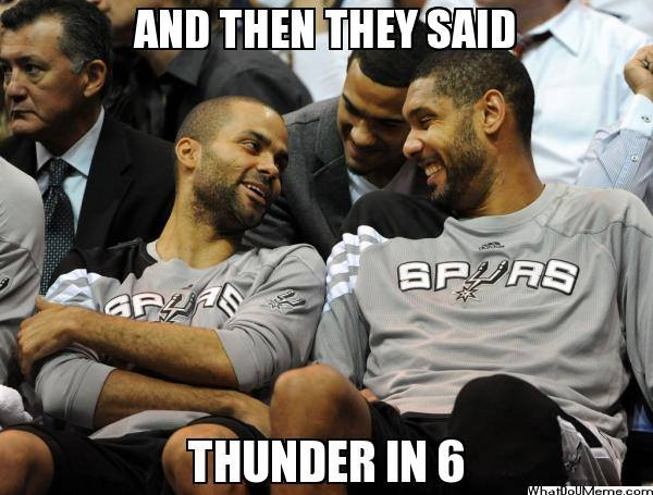 Thunder in 6 Joke