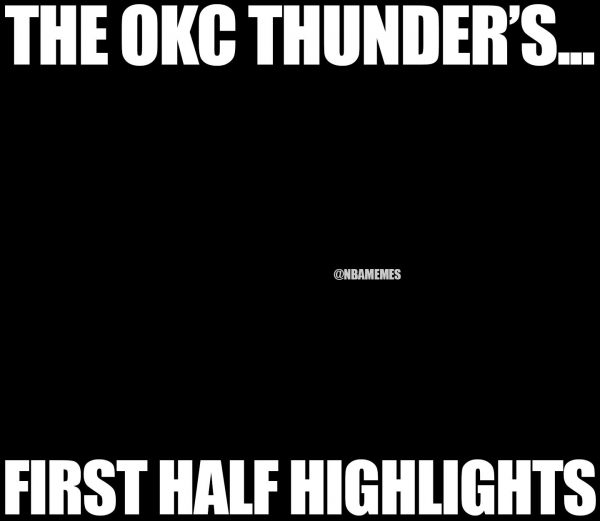 Thunder no highlights