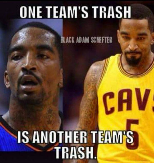 Trash J.R. Smith