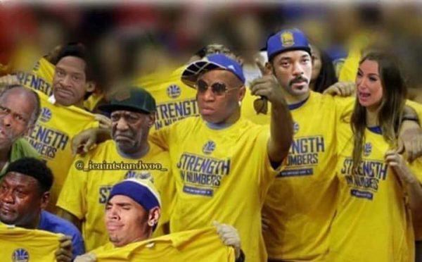 Warriors Fans photoshop