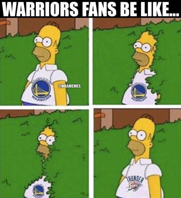 Warriors to Thunder