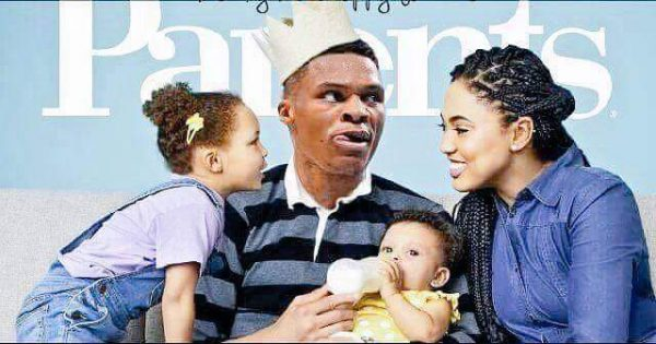 Westbrook with Curry Family