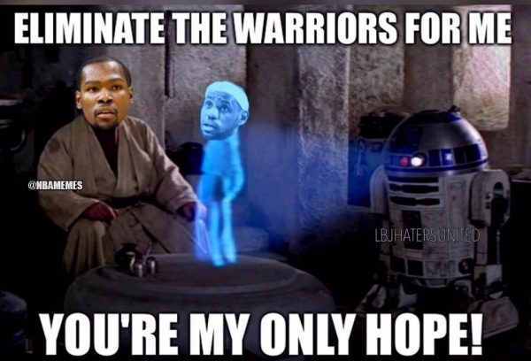 You're my only hope Durant