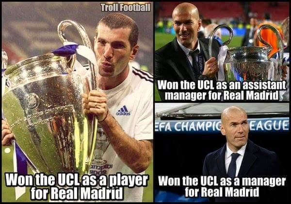 Zidane UCL