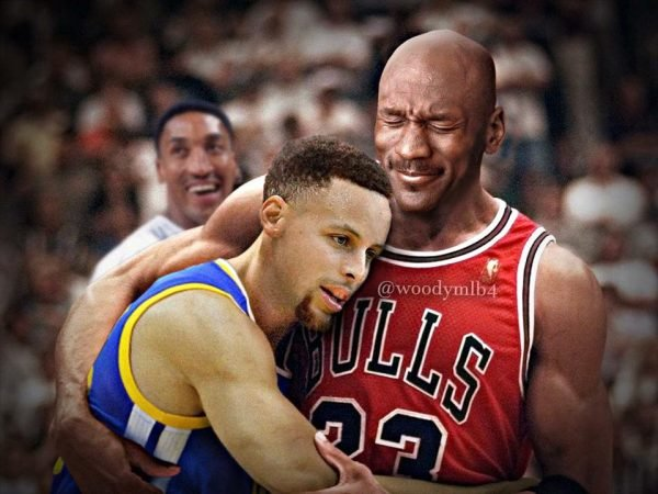 Michael Jordan, Stephen Curry Meme