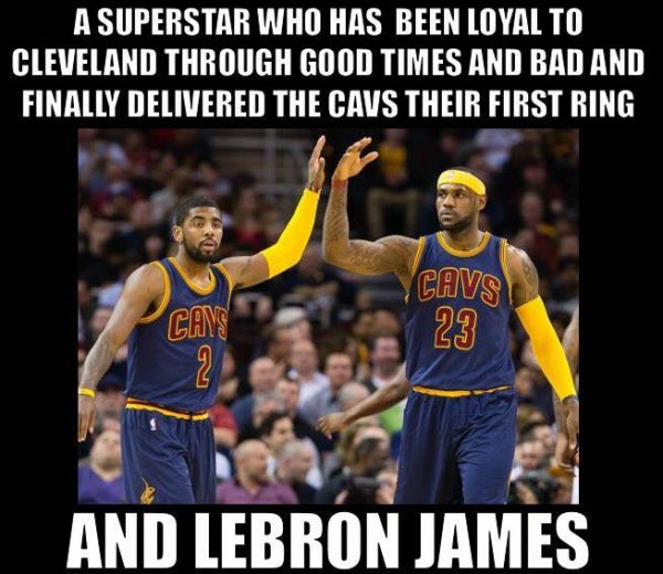 And LeBron James