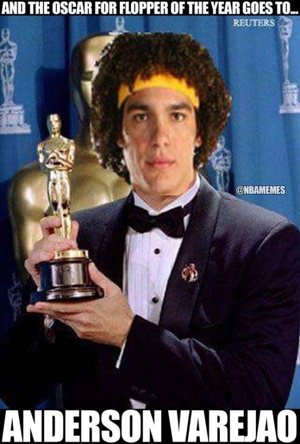 Anderson Varejao Flopper MVP