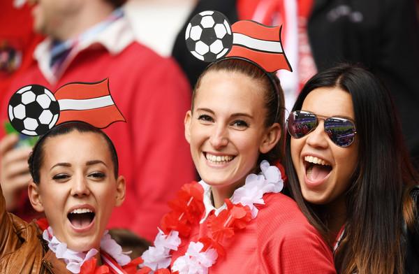 Austria fans