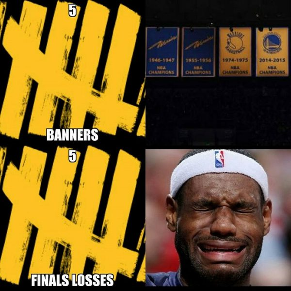 Banners vs FInals Losses