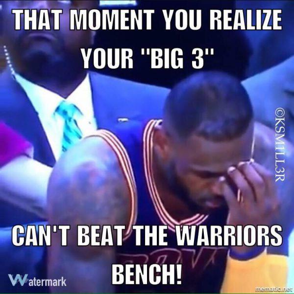 Big 3, Warriors Bench