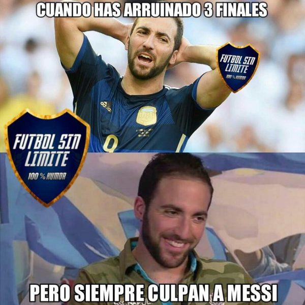 Blame Messi