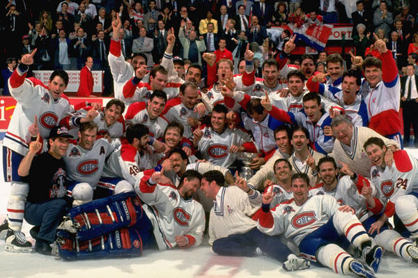 Canadiens 1993 Stanley Cup