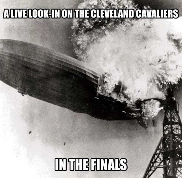 Cavaliers in the Finals