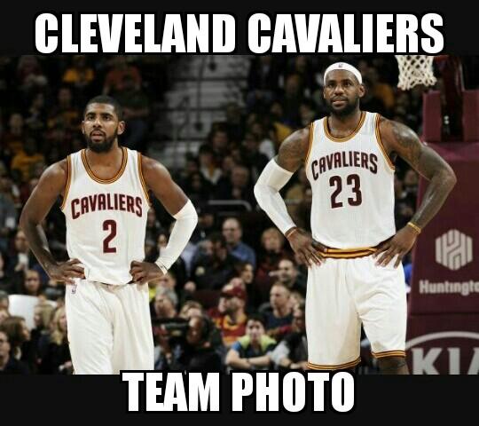 Cavs Team Photo