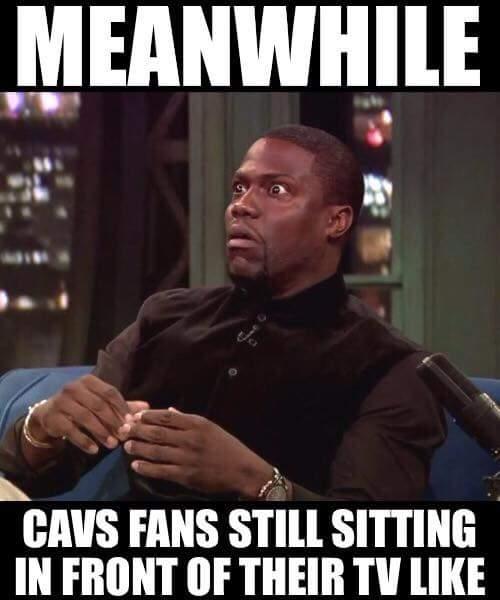 Cavs fans TV