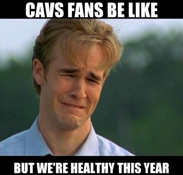 Cavs fans crying