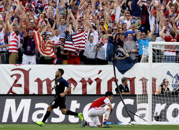 The United States Join Colombia As Top Two Teams Of Group Qualifying To Quarter Finals Copa America Leaving Paraguay And Costa Rica
