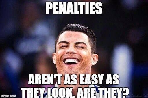 Cristiano Ronaldo Laughing
