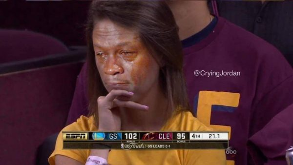 Crying Jordan Cavs Fan