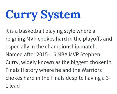 Curry System