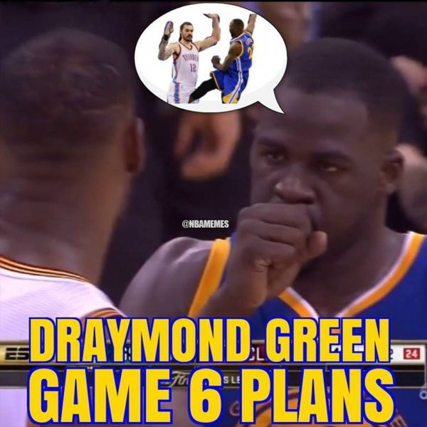 Draymond Green Game 6 Gameplan