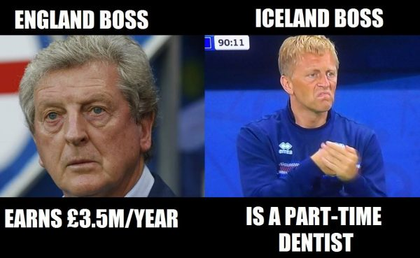 England Iceland Bosses