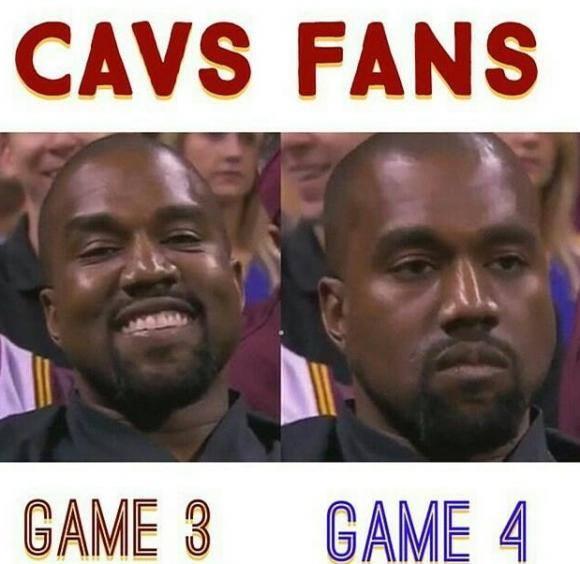 Kanye Cavs Fans