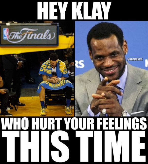 Klay Hurt Feelings
