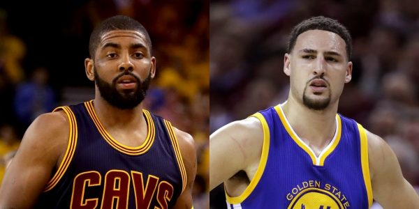Kyrie Irving, Klay Thompson