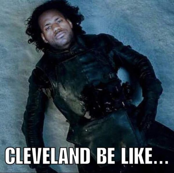 LeBron James Jon Snow